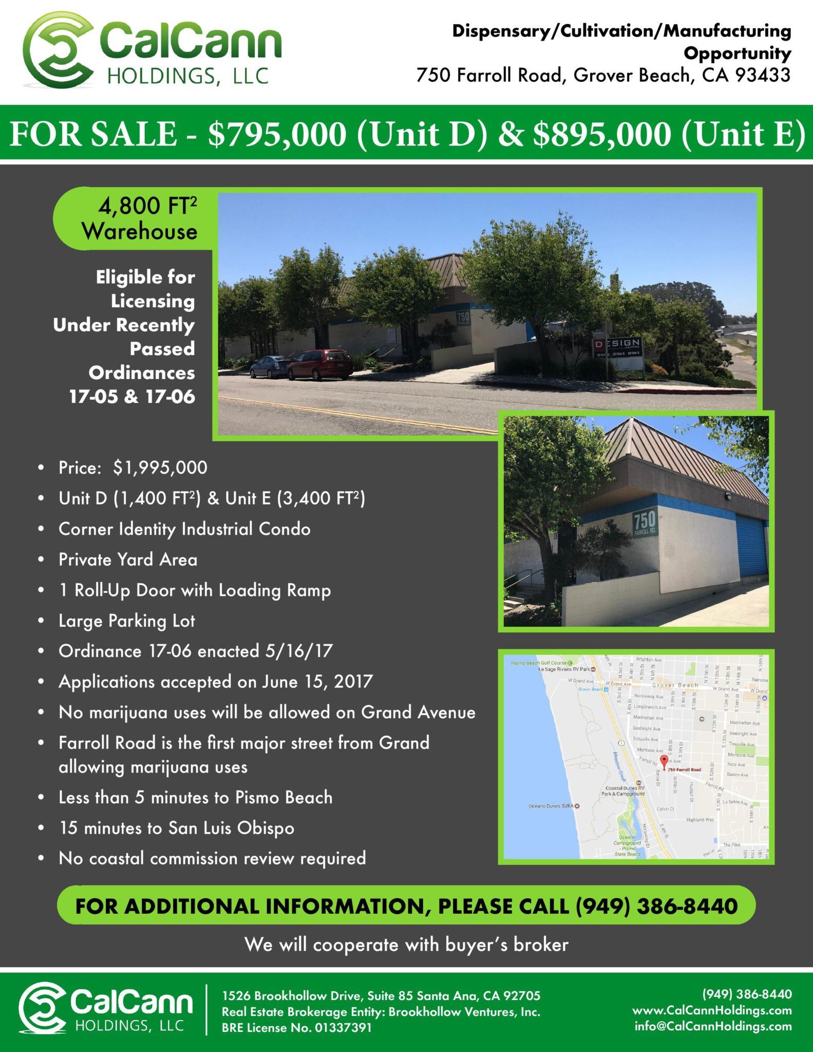 750 Farroll Road <br />Grover, CA
